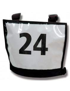 Nummerlappsväst Basic A4-ficka