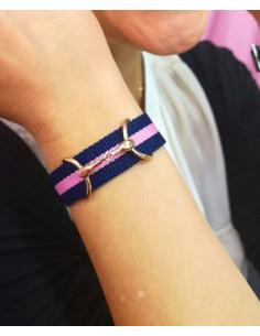 Band Bite Bracelet Roseguld